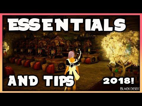 Essentials for Lifeskillers and Tips 2019  Black Desert Online