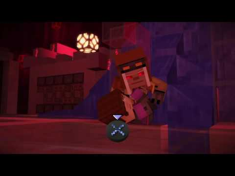 Minecraft Story Mode Act 2 Episode 7 Evil Petra And Pama Boss