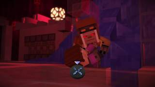 Minecraft Story Mode Act 2 Episode 7 Evil Petra and PAMA boss fight