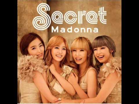 Secret - 05. Madonna -Original Korean ver.- (MP3+DL)