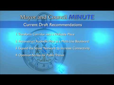 Mayor and Council Minute - Rockville Pike Plan with Councilmember Mark Pierzchala