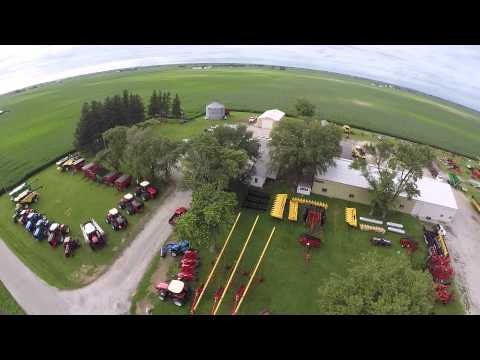 Shaff Implement in  Urbana Illinois - Aerial View