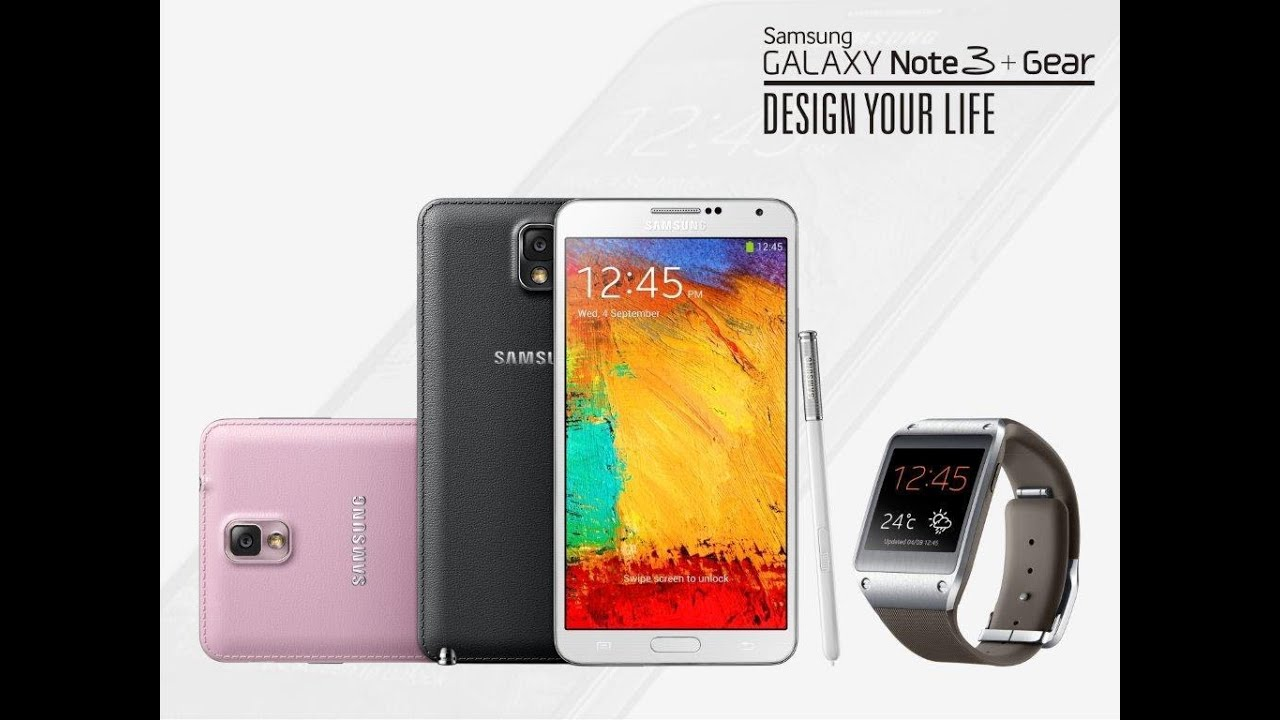 Samsung Note 3, Galaxy Gear smartwatch launch in India ...