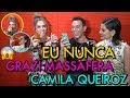 Vídeo: Grazi Massafera e Camila Queiroz revelam lugares onde já fizeram sexo; assista