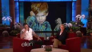 Ricky Martin and His Trilingual Children - Ellen Show
