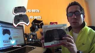 iPega PG-9025 Control bluetooth para iOS y Android. Unboxing & Review