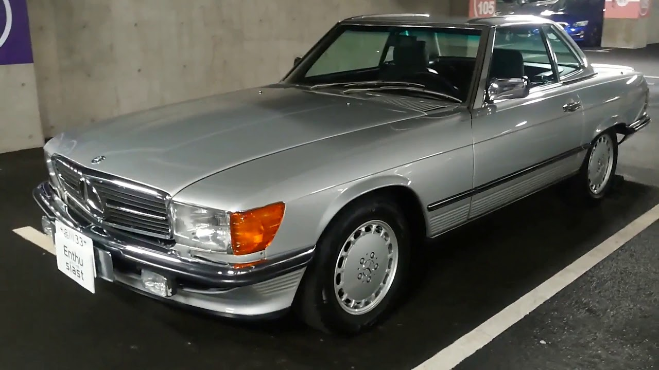 メルセデスベンツ(R107)560SL 1989年式