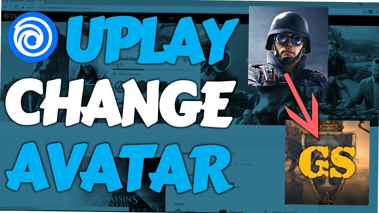 Uplay - How to change Profile Picture (Ubisoft Club Avatar ...