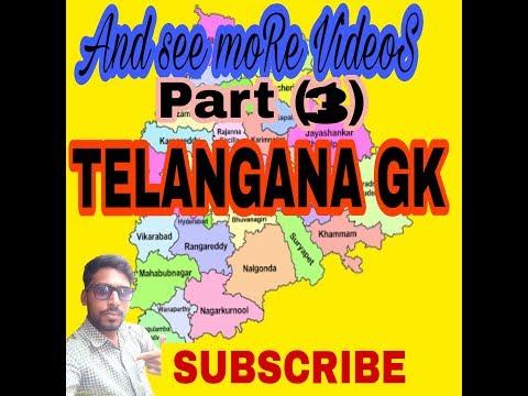 Telangana Gk Part 3
