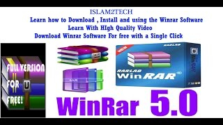 How to Download , Install & Using the Winrar Software Full Tutorial In Hindi