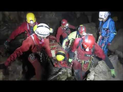 Spašavanje iz pećina Republika Slovenija 2017