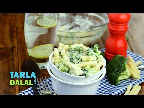 Creamy Macaroni with Broccoli by Tarla Dalal