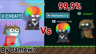 Making @Hamumu & @Seth Full Set 99,9%! HOW!? (WITH 10WLS) OMG! @Hamumu , @Seth | Growtopia | Jamew7