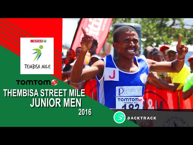 Junior Men Mile - 2016 Tomom Tembisa Streetmile