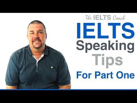 IELTS Speaking Tips For Part 1