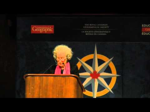 Margaret Atwood sings Canadas Really Big