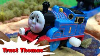 """トーマス プラレール ガチャガチャ しんじられるきかんしゃ Tomy Plarail Thomas """"Trust Thomas"""" thumbnail"""