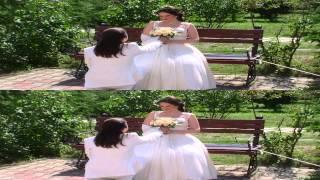 Свадебный клип 3D half OU