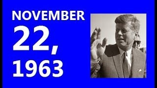 EXPANDED VIDEO! --- A MONTAGE OF TELEVISION & RADIO BULLETINS FROM NOVEMBER 22, 1963