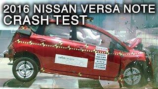 2016 Nissan Versa Note Frontal Crash Test