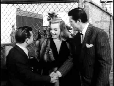 Marilyn Monroe in The Fireball(1950) her rarest film,scenes and stills