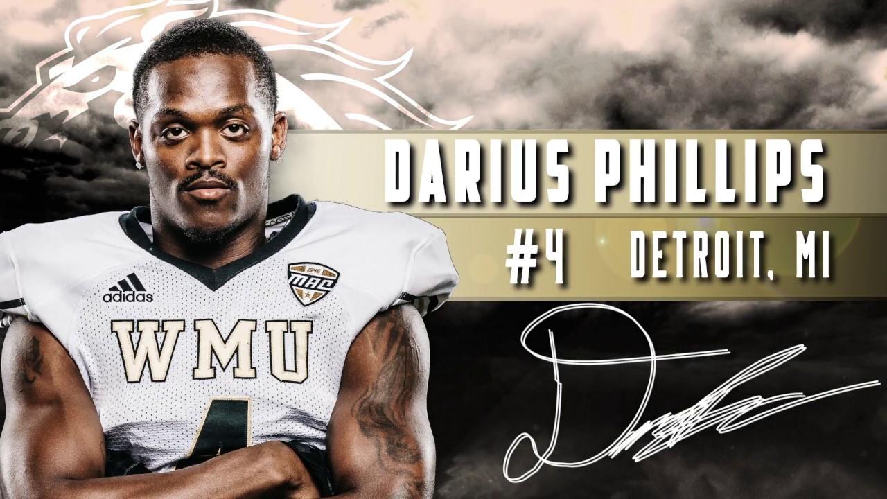 reputable site daa0f e7d25 WMU Football: Darius Phillips NFL Prospect