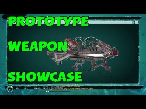 Prototype Weapon Showcase (no Beacon) - Defiance 2050