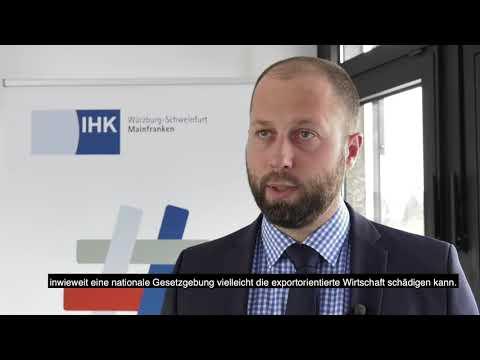 IHK TV - Lieferkettengesetz - die Bedeutung für die mainfränkische Wirtschaft