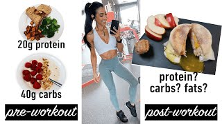 What I Eat Pre & Post Workout (Meal Ideas & Nutrition Science)