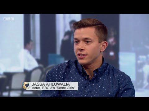 Jassa supports Save BBC3 live on Victoria Derbyshire