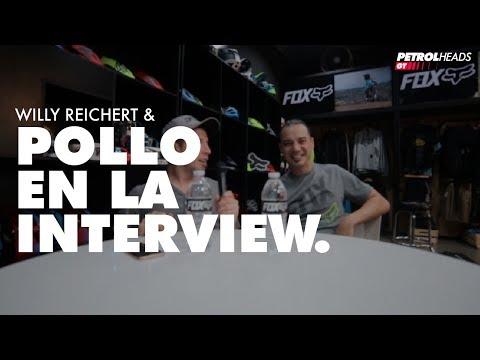 WILLY REICHERT & POLLO EN LA INTERVIEW
