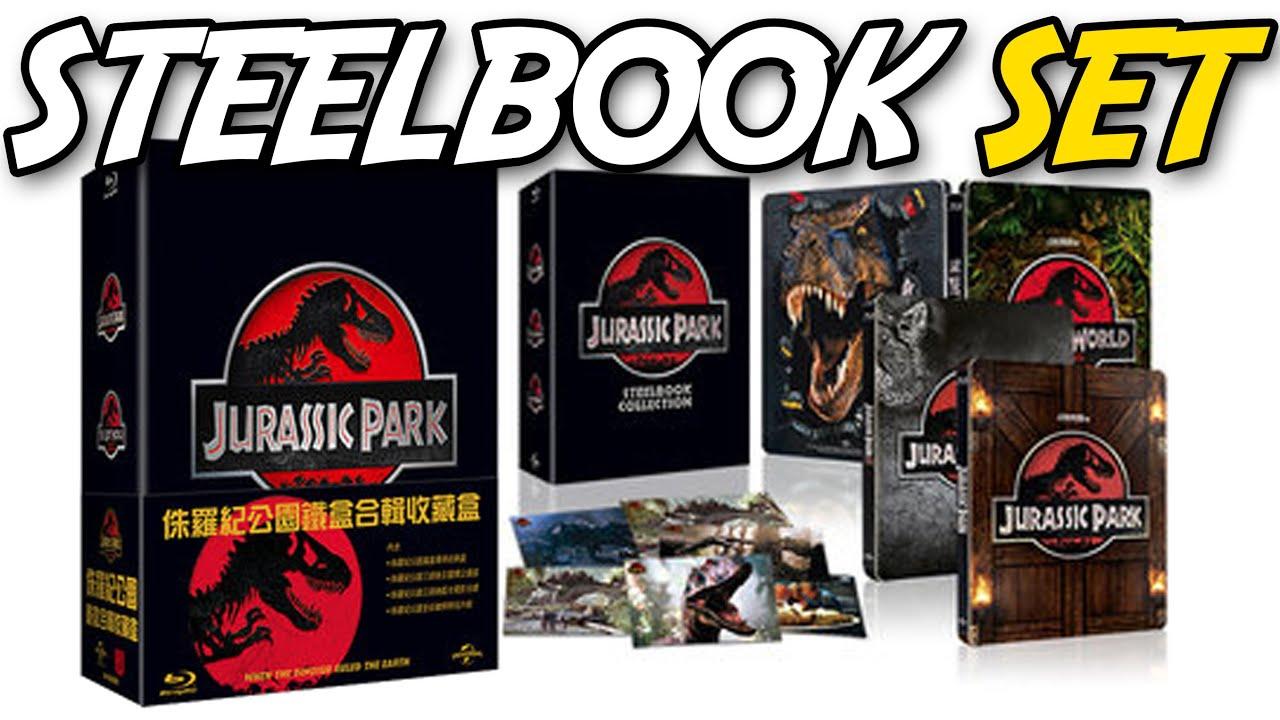 Super JURASSIC PARK® | STEELBOOK Ultimate Trilogy | Taiwan Boxset  BK74