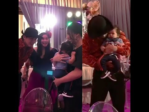 PANOORIN: LOLO ROBIN PADILLA GOT TO SEE AND CUDLE HIS APO BABY ALAS FOR THE FIRST TIME!