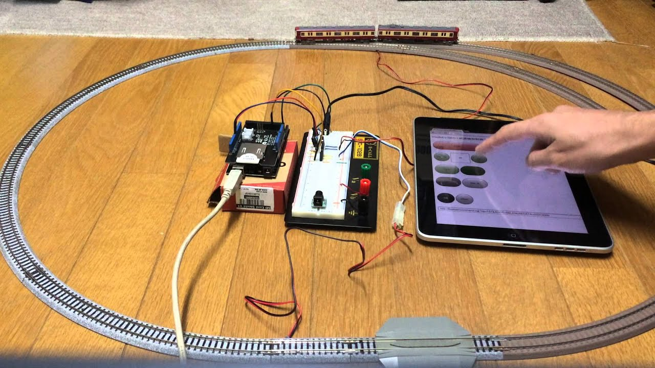 Flashair arduinoによるnゲージ鉄道模型制御 doovi