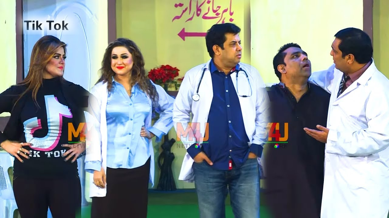 Naseem Vicky and Heer Jutt with Qaiser Piya | Stage Drama Teri Zara Jai Haan | New Comedy Clip 2020
