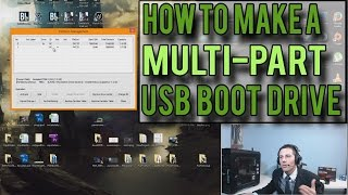 How to Create a MULTI-PARTITIONED Windows 7/8/8.1 Bootable USB Flash Drive