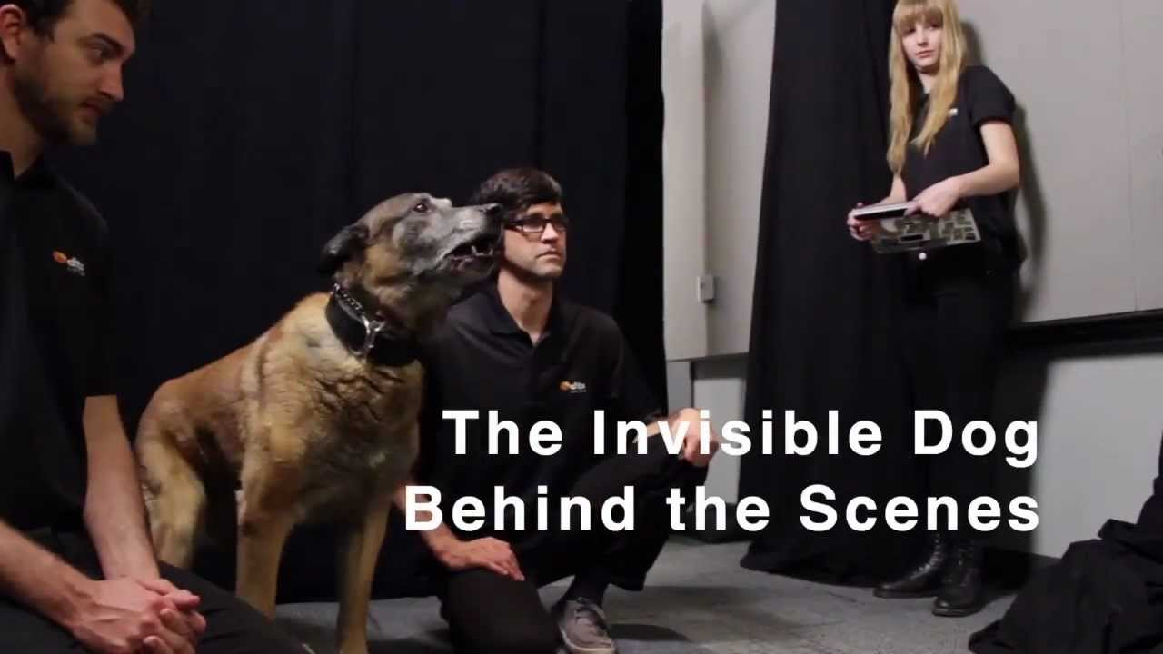 EXCLUSIVE: Invisible Dog Prank - Behind the Scenes - Behind the scenes of a cruel prank video by Rhett & Link, where they convince people that they are about to be mauled by a dog.