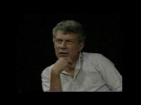John Berger in Conversation with Lisa Appignanesi at ICA 1985