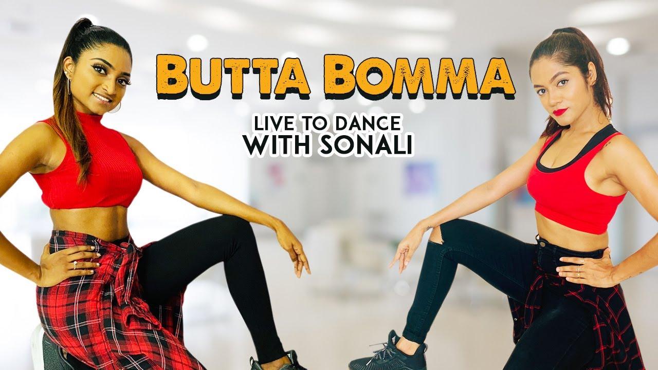 #AlaVaikunthapurramuloo - ButtaBomma | Dance Cover | Allu Arjun  | LiveToDance with Sonali