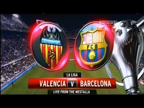FC Barcelona vs Valencia Live Stream