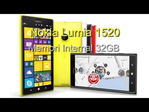 Nokia Lumia 1520 Hp 6 inci QuadCore Kamera 20 MP Harga Indonesia