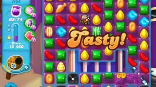 Candy Crush Soda Saga Level 1188 - NO BOOSTERS