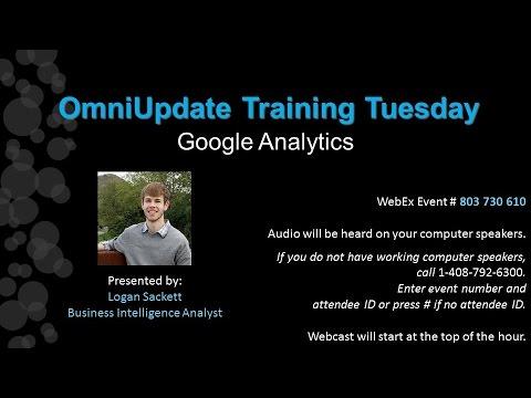 Training Tuesday: Google Analytics