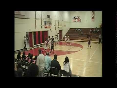 Grover Cleveland High School Girls Varsity Basketball Highlights 2012