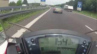 2012 ninja 650 top speed 0-135mph - Clip.FAIL