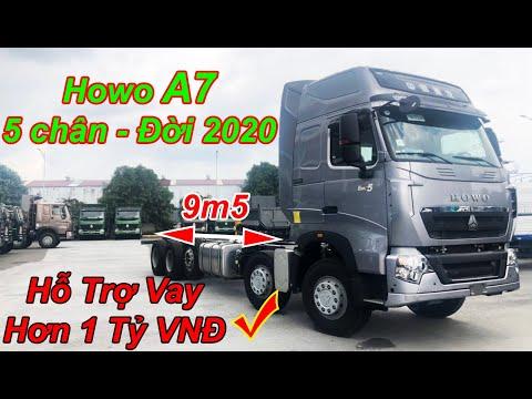 Xe Tải Howo A7 5 Chân 2020 Tải Trọng 21.5 Tấn - Báo Giá Xe Tải Howo Miền Nam