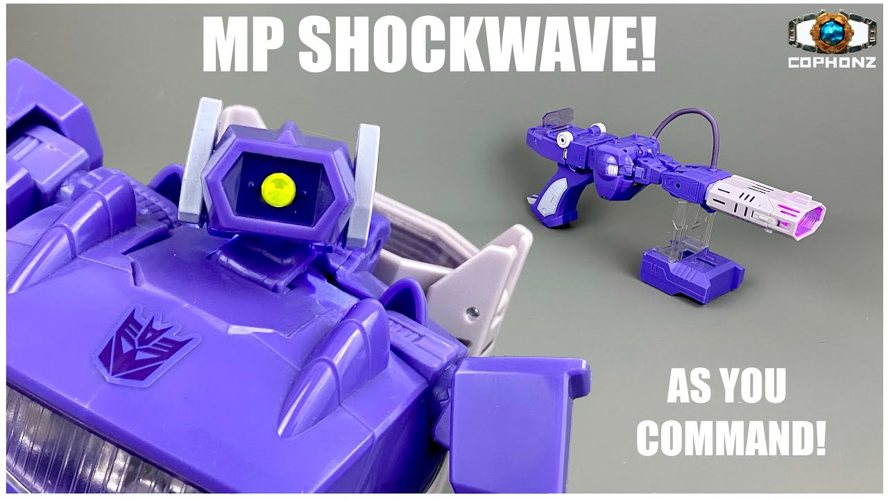 No Words Review of Masterpiece MP-29 Shockwave by cophonz