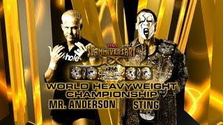 TNA Mr.Anderson vs. Sting (Slammiversary 2011) Promo