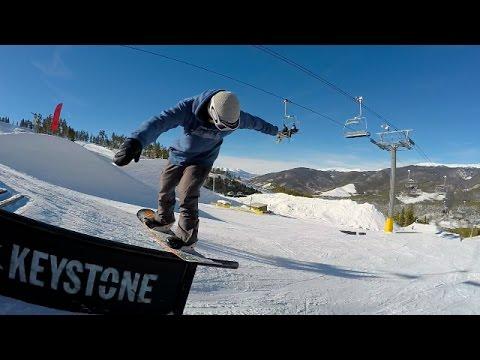 Freestyle Snowboarding Alec VandeWeerd. Keystone Colorado A51