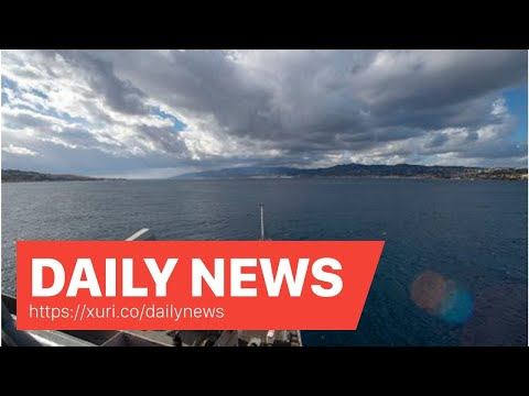 Daily News - Navy sends first ship into Black Sea since Russian seizure